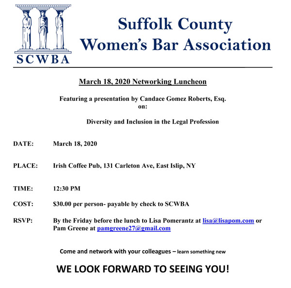 Suffolk County Women's Bar Association @ Suffolk County Women's Bar Association