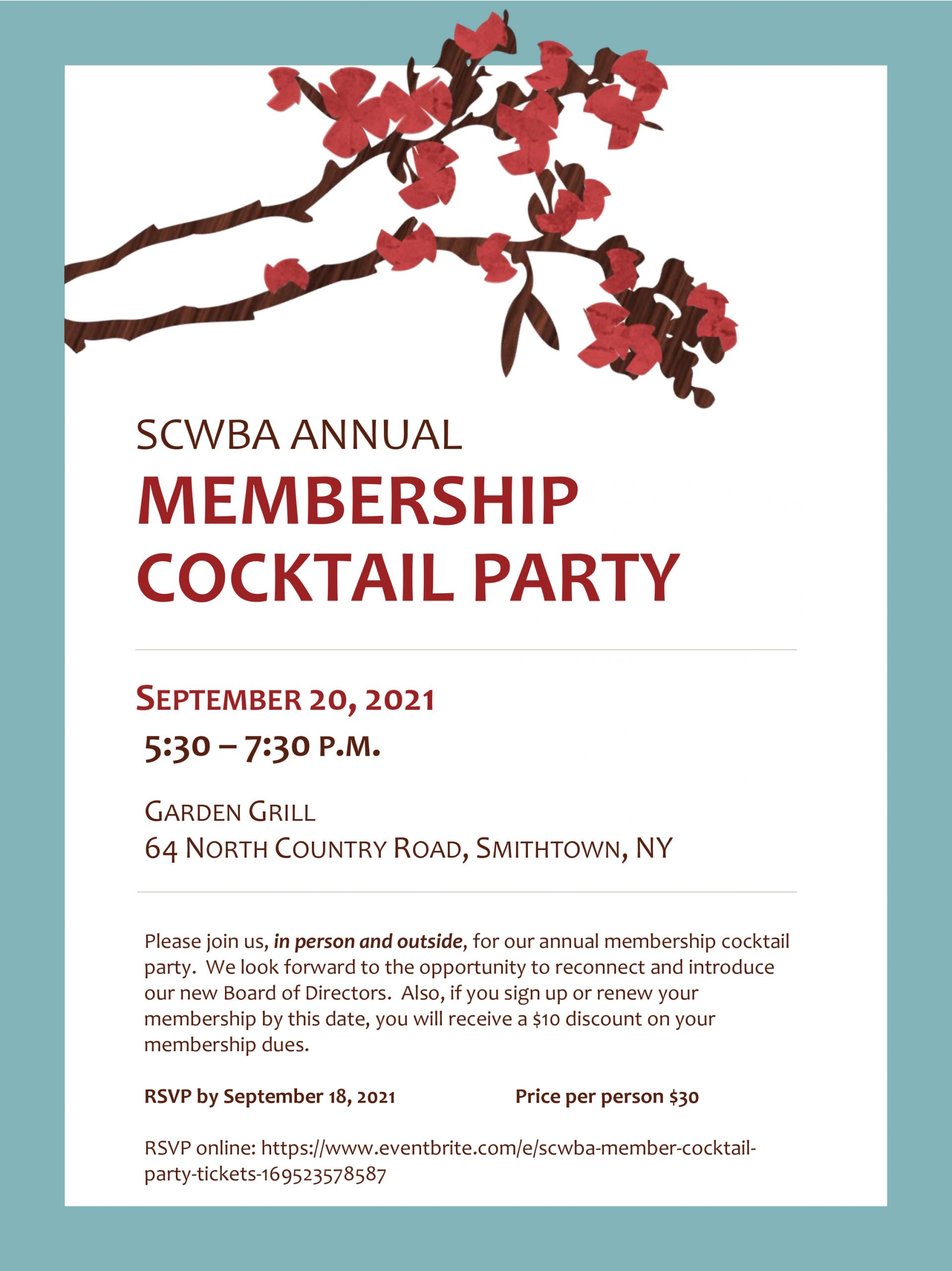 Membership Cocktail Party